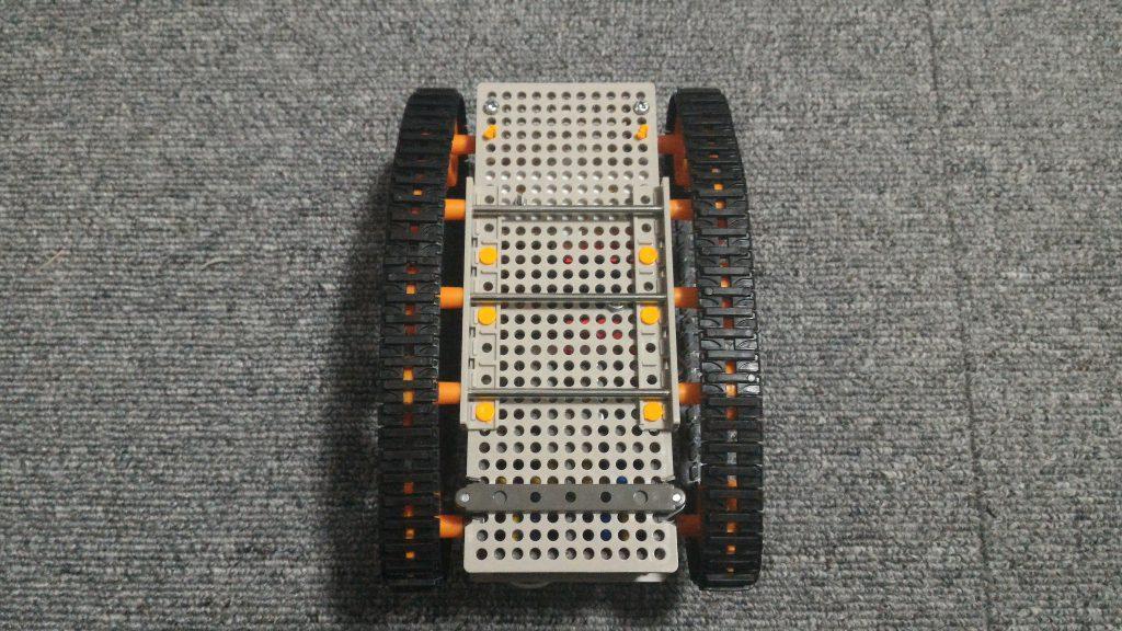 micro:bit 戦車 裏側