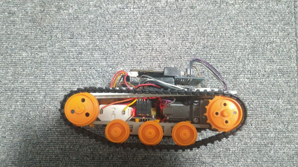 micro:bit 戦車 真横